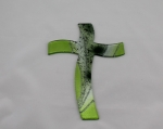 Glass Cross Verde Epoche